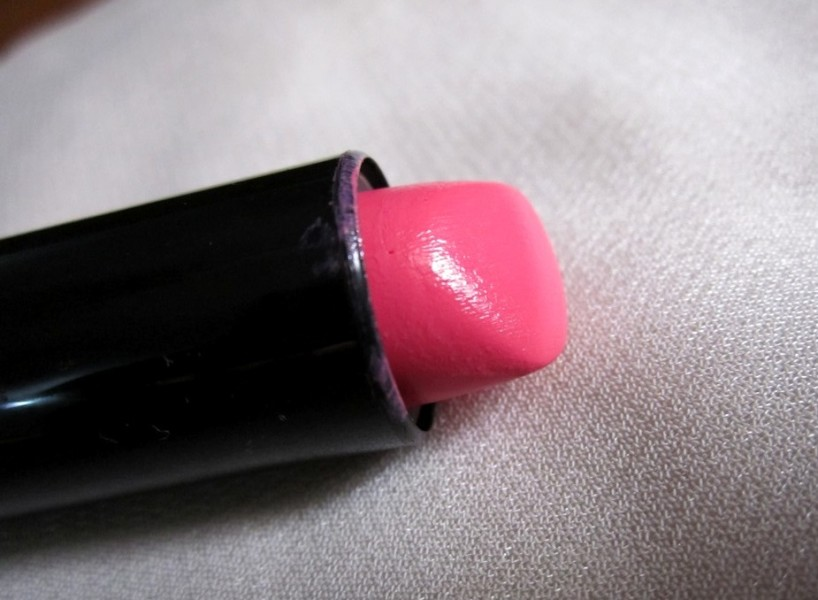 Bourjois Rouge Editon Lipstick  Rose Neon review swatches (5)