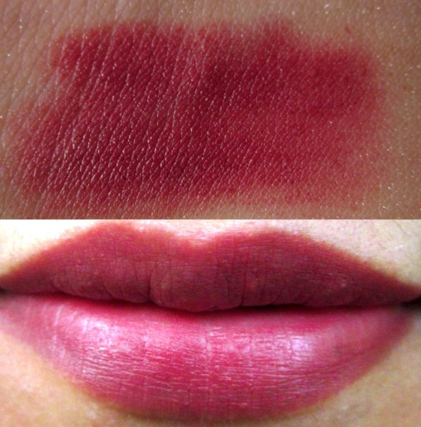 Chambor Powder Matte Lipstick Fantaisie Nacre Review and Swatches (7)