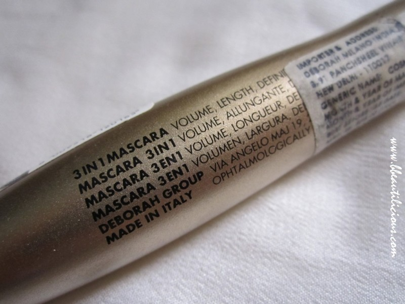 Deborah Milano Absolute Hi-tech Mascara review (6)