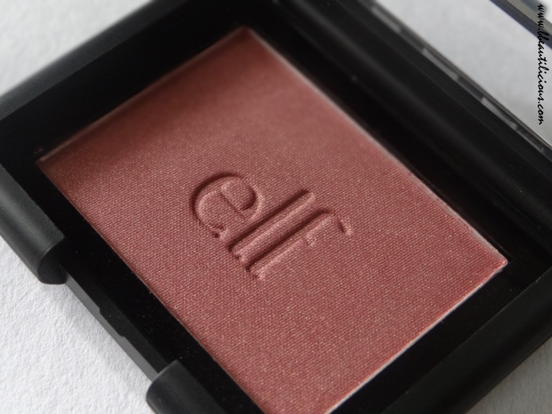 Elf Powder Blush Blushing Rose Review Swatches (10)