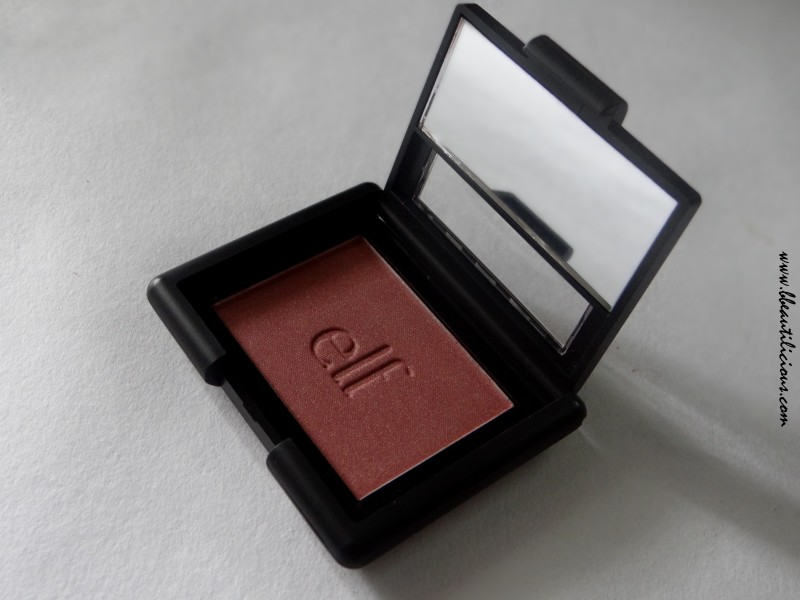 Elf Powder Blush Blushing Rose Review Swatches (9)