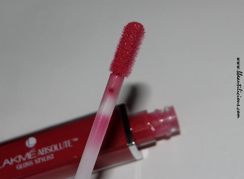 Lakme Absolute Gloss Stylist Burgandy Burn Review Swatches (7)