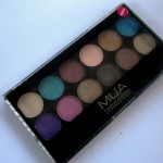 MUA Glamour Days Eyeshadow Palette Review, Swatches