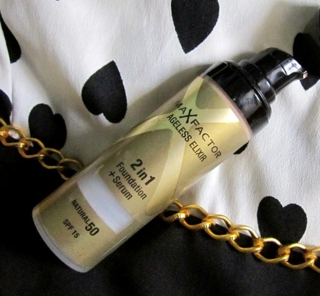 Max Factor Ageless Elixir 2 in 1 Foundation Serum Review ...