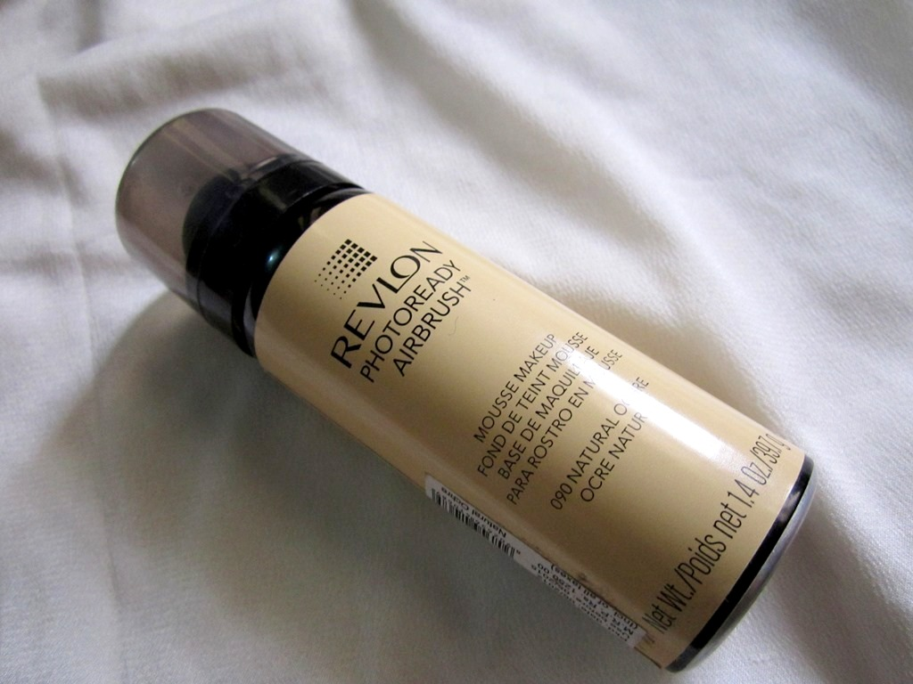 Revlon Photoready Airbrush Mousse Makeup review swatches (4)