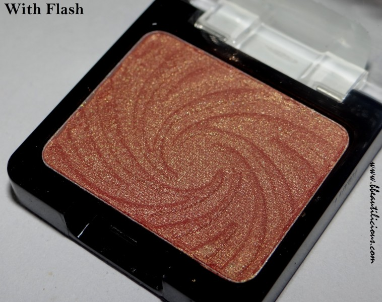 Wet n wild coloricon eyeshadow single Penny review swatches (5)
