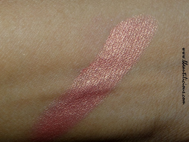 Wet n wild coloricon eyeshadow single Penny review swatches (8)