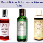 Be Beautilicious & Auravedic Giveaway ! (Closed)