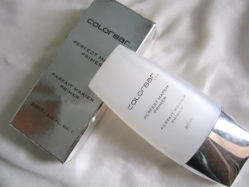 Colorbar Perfect Match Primer Review Swatches Photos (2)