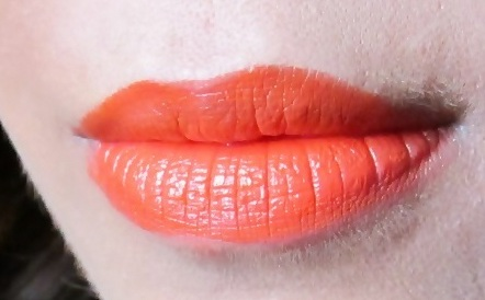MAC Morange Lipstick Review Swatches Photos (1)