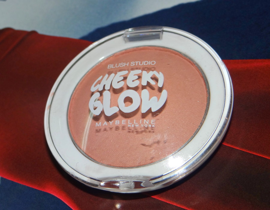 Maybelline Cheeky Glow Blush Creamy Cinnamon review swatches photos (1)