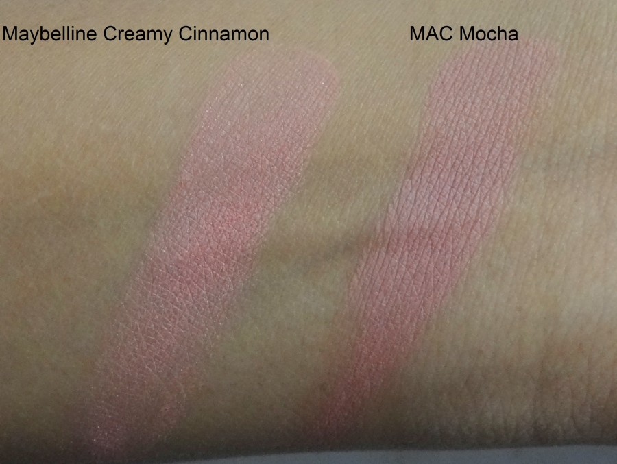 Maybelline Cheeky Glow Blush Creamy Cinnamon review swatches photos (5)