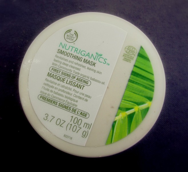 The Body Shop Nutriganics Smoothening Mask Review (1)