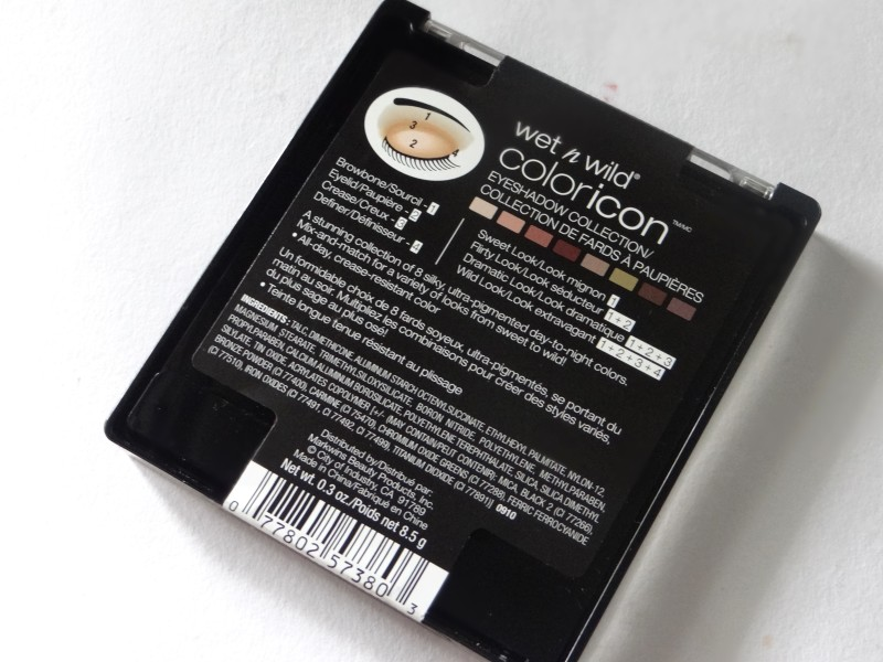 Wet 'n' Wild Comfort Zone Eyeshadow Palette (1)