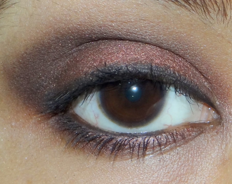 Bobbi Brown Metallic Eyeshadow Cognac Review Swatches Photos (6)