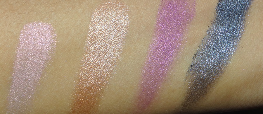 Lakme Eye Color Quartet Silk Route review swatches photos (1)