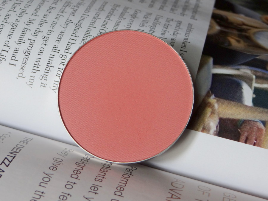 MAC Pinch Me Blush review swatches (4)