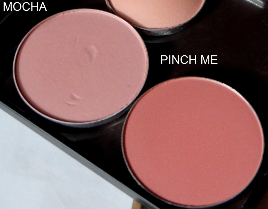 MAC Pinch Me Blush review swatches (5)