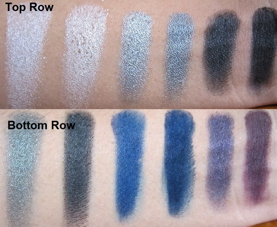 Sleek Bad Girl  palette review swatches photos (1)