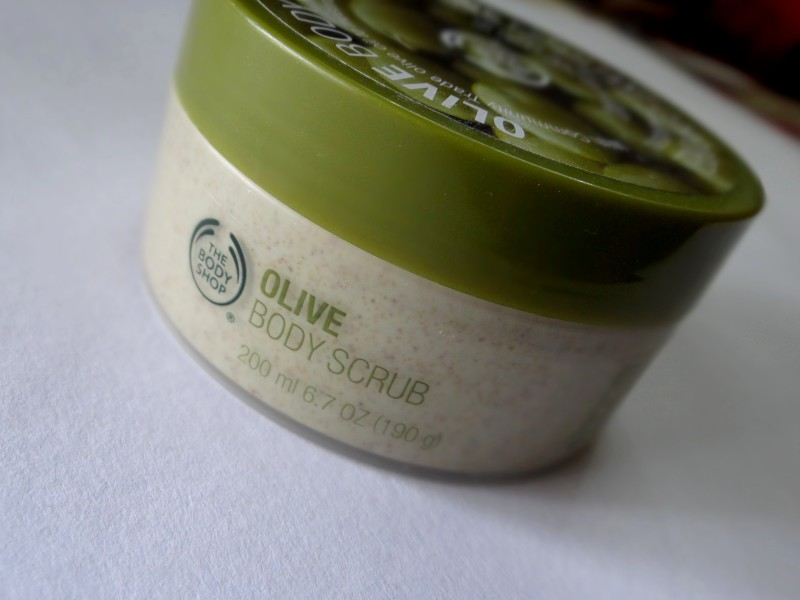 The Body Shop Olive Body Scrub Review