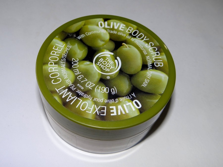 The Body Shop Olive Body Scrub (2)