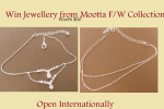 Win Silver Jewellery From Mootta – Giveaway Open Internationally (Closed)