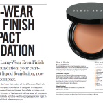 New Launch ! Bobbi Brown Long-Wear Even Finish Compact Foundation