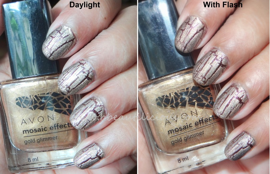 Avon Mosaic Effects Gold Glimmer (3)