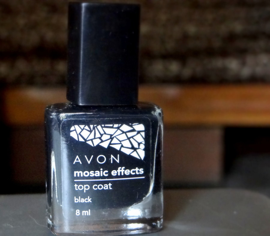 Avon Mosaic Effects Top Coat Black (2)