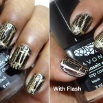 Avon Mosaic Effects Top Coat Black Review Photos