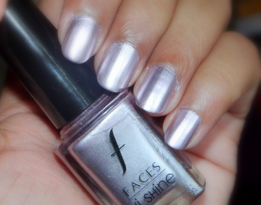Faces Hi-Shine Nail Paint in Chrome (2)