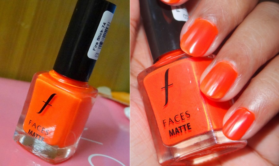 Faces Matte Nail Enamel Fire Stick (3)
