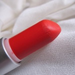MAC Dangerous Retro Matte Lipstick Review Swatches Photos