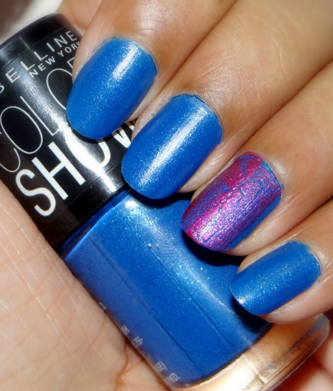 Maybelline Color show nail enamel denim dash