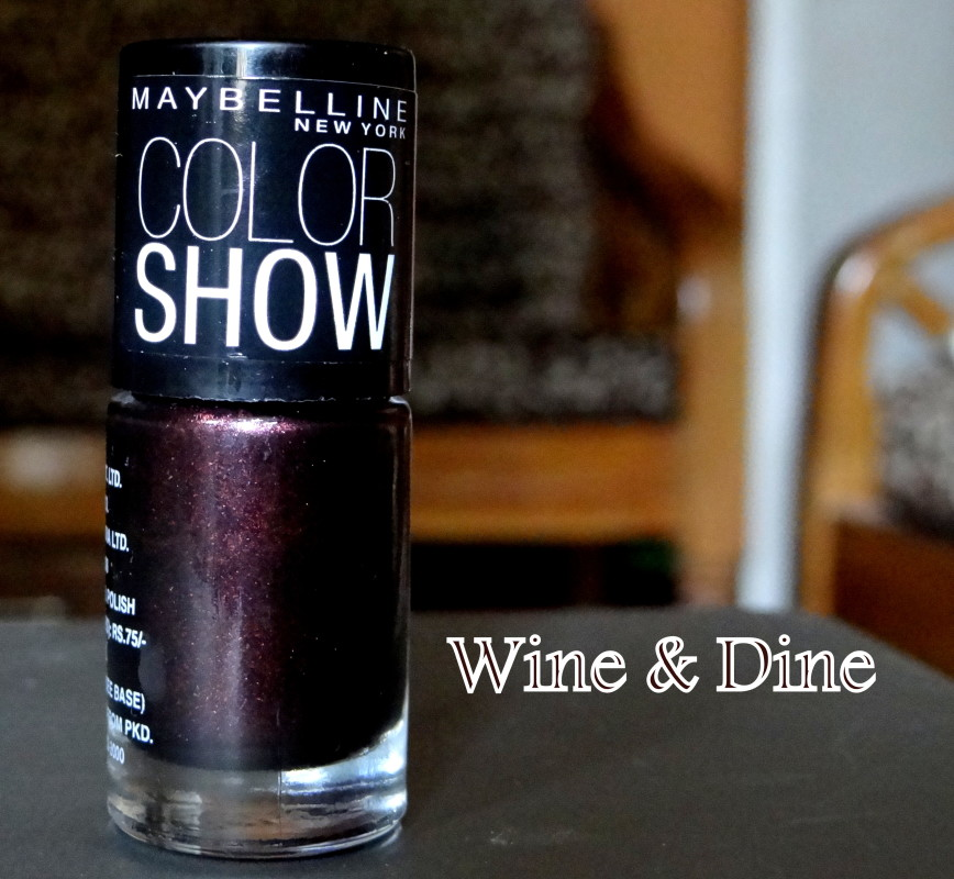 Maybelline Color show nail enamel denim dash wine & dine (1)