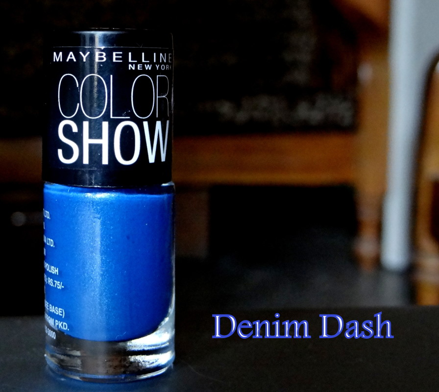 Maybelline Color show nail enamel denim dash wine & dine (2)