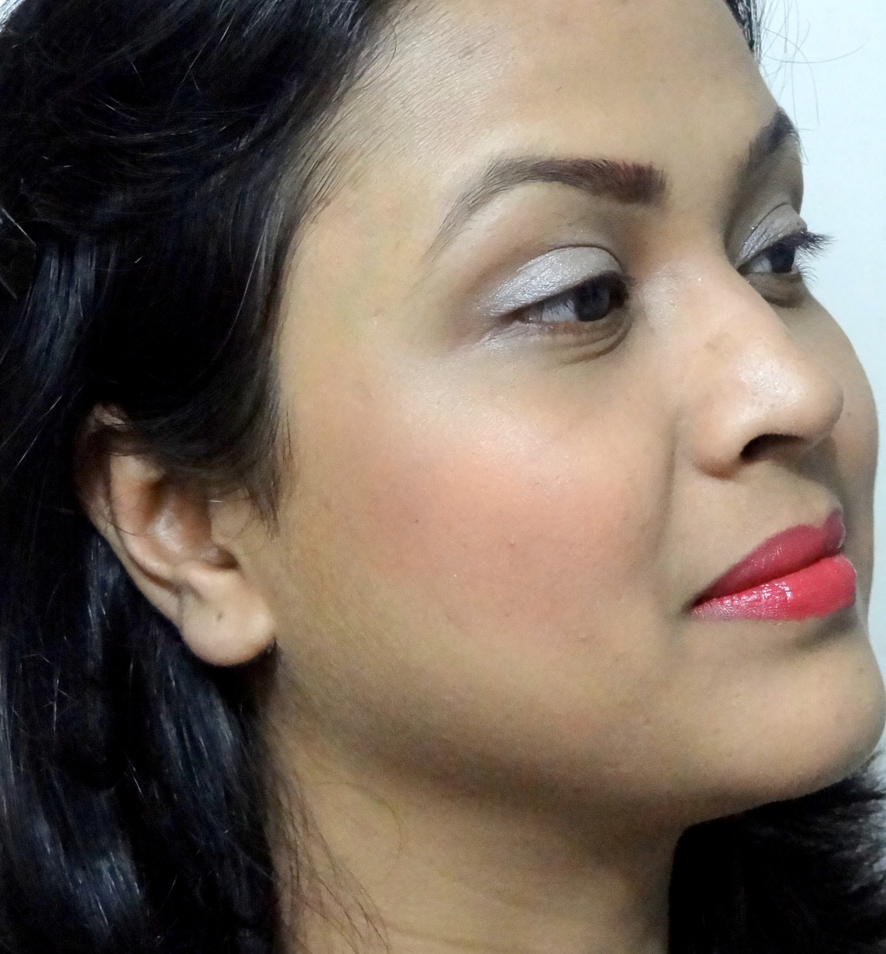 Blush On Maybelline Color Show Studio Cheeky Glow Original Fresh Coral 4