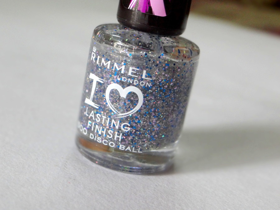 Rimmel Lasting Finish 500 Disco Ball Nail Enamel (2)
