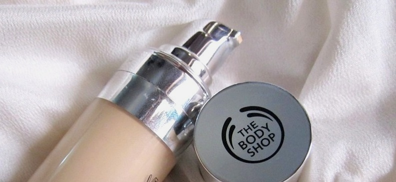 The Body Shop Moisture Foundation Review Swatches Photos (4)