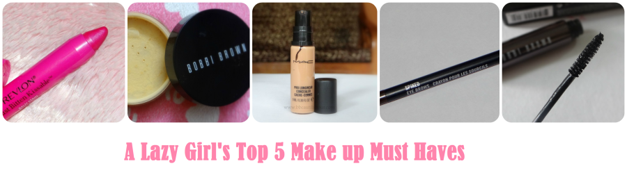 Top 5 Make up Must Haves