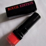 Bourjois Rouge Edition Lipstick Fraise Remix Review