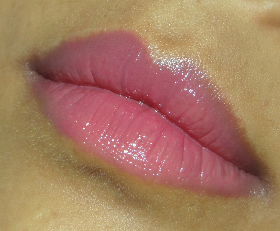 Colorbar Ange Rose Pout In a Pot Lip Color Review Swatches 2 900x741