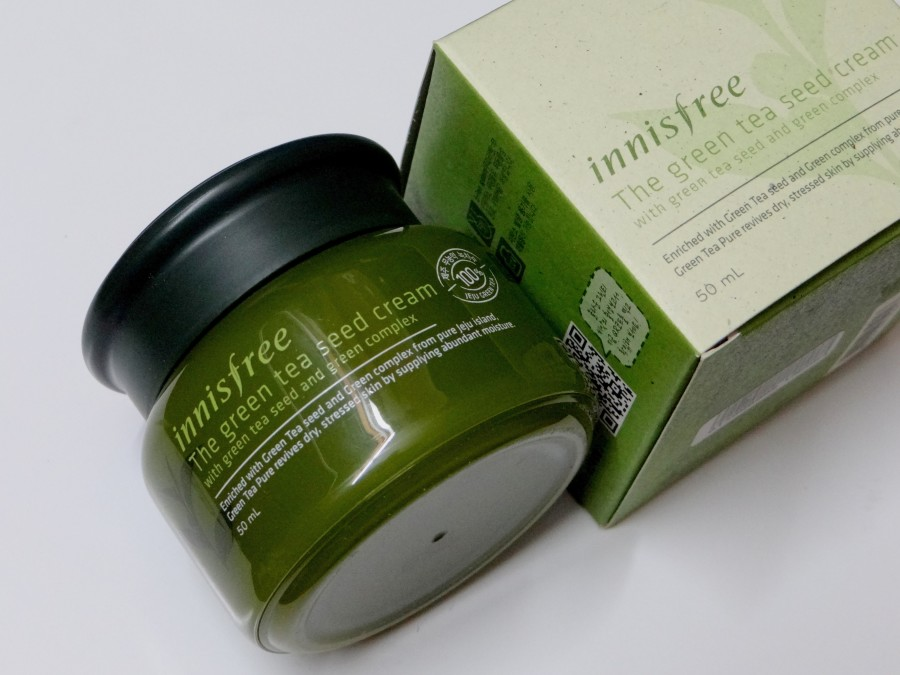 Innisfree The Green Tea Seed Cream Review (2)