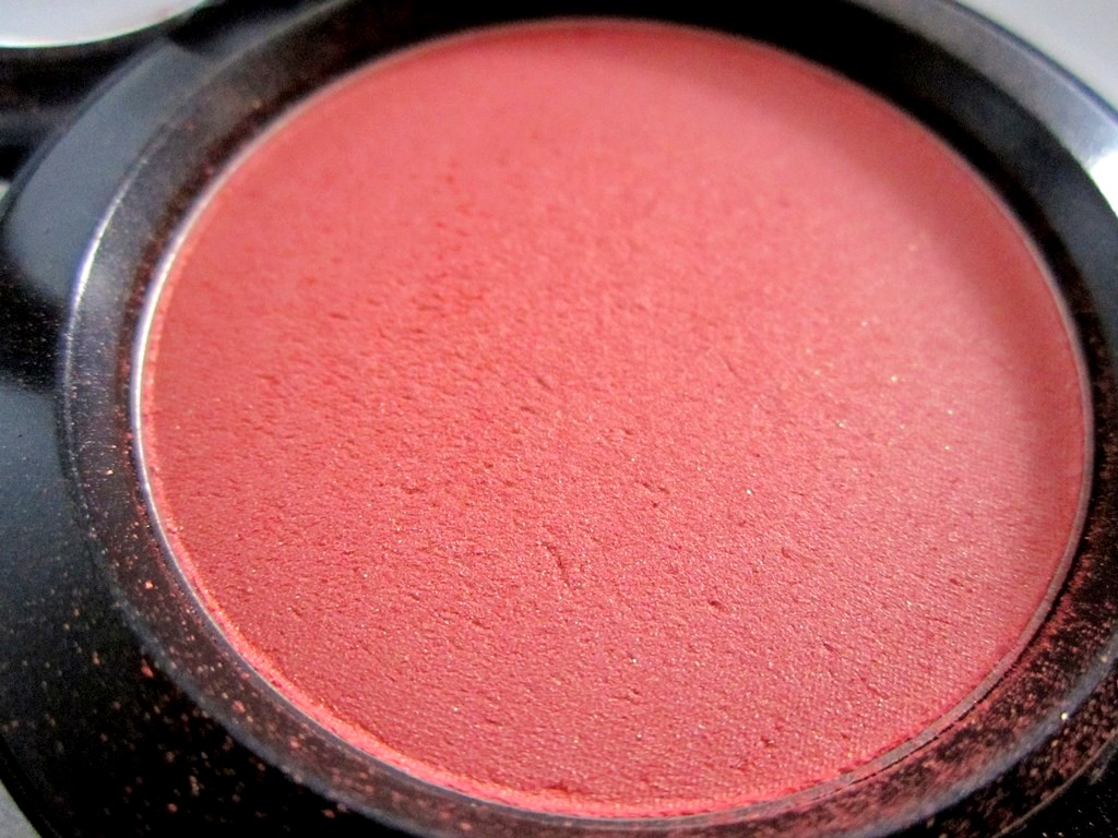 MAC Peachykeen Blush Review Swatches PhotosBe Beautilicious