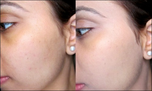 Max Factor Experience Weightless Foundation Review Swatches Pics (2)