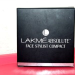 Lakme Absolute Face Stylist Compact Review Swatches