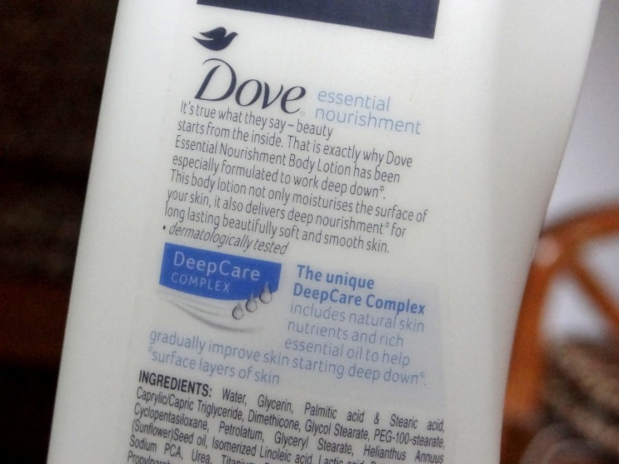 Dove Essential Nourishment Body Lotion Review (1)
