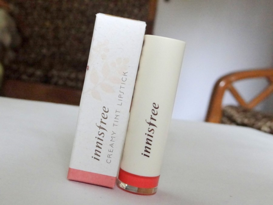 Innisfree Creamy Tint Lipstick Review Swatches Photos (2)