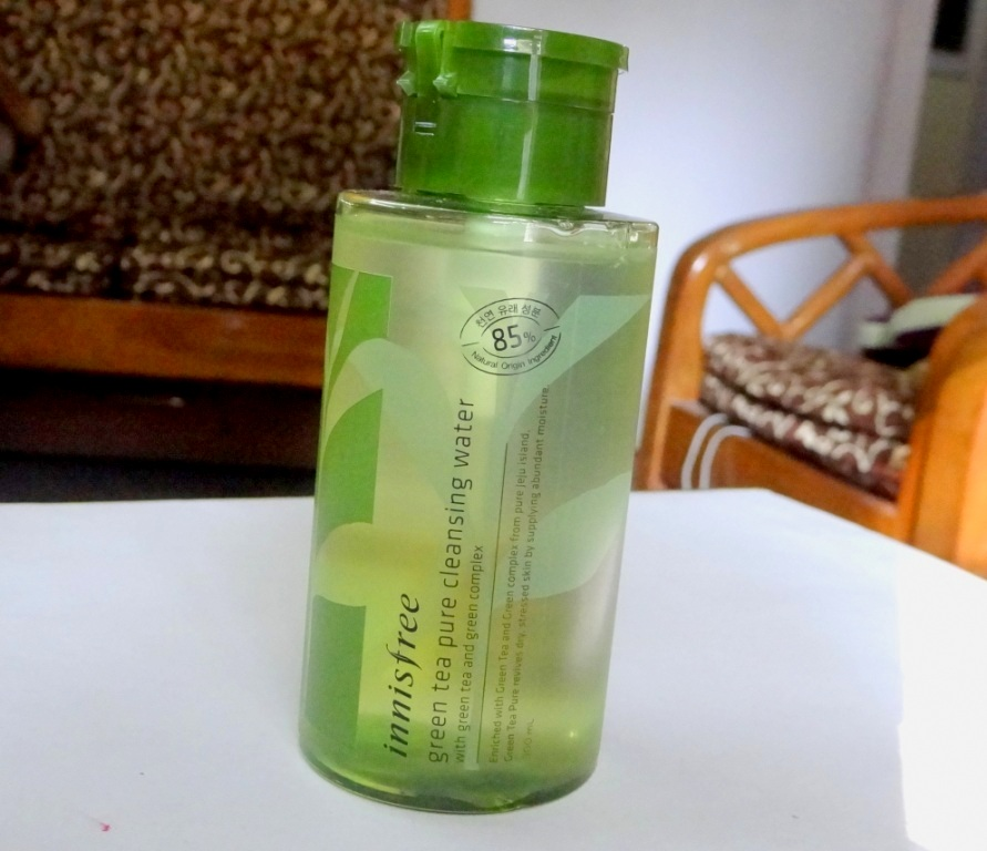 Innisfree Green Tea Cleansing Water (2)