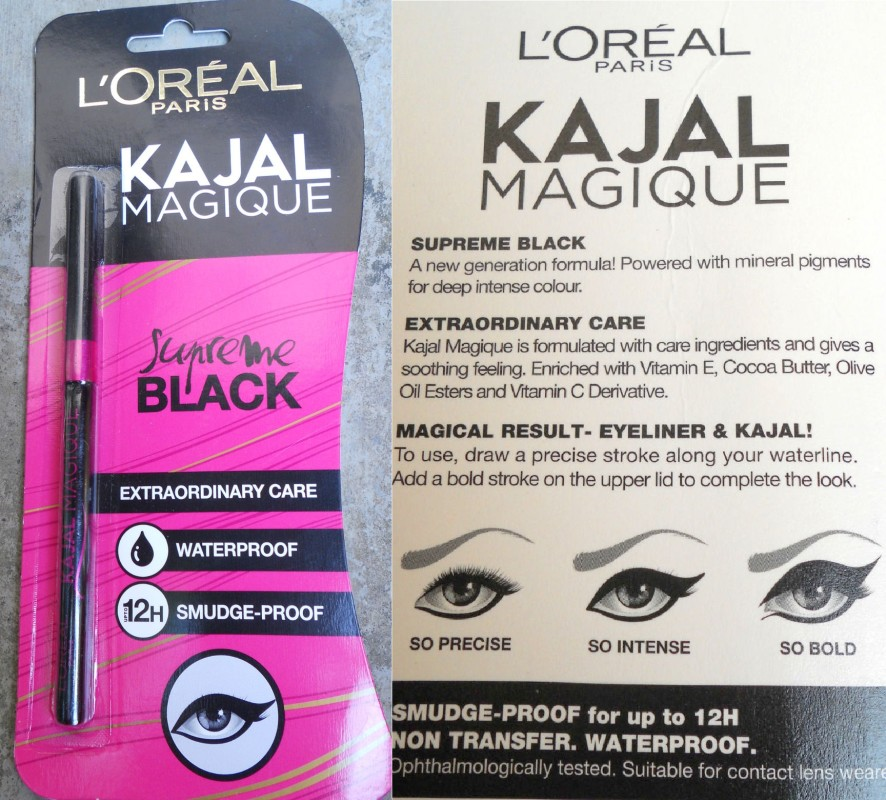 Loreal Kajal Magique Review Swatches and Photos (2)